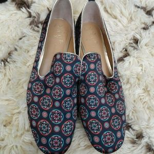 Banana Republic Shoes Printed Loafer Flats 8M